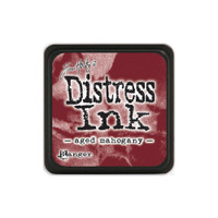 Tim Holtz Mini Distress Pads by Ranger - Aged Mahogany