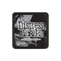Tim Holtz Mini Distress Pads by Ranger - Black Soot