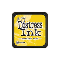 Tim Holtz Mini Distress Pads by Ranger - Mustard Seed