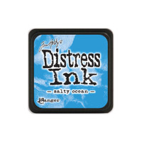 Tim Holtz Mini Distress Pads by Ranger - Salty Ocean