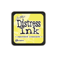 Tim Holtz Mini Distress Pads by Ranger - Squeezed Lemonade