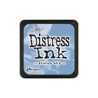 Tim Holtz Mini Distress Pads by Ranger - Stormy Sky