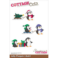 CottageCutz Die - Jolly Penguin