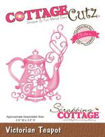 CottageCutz Elites Die -  Victorian Teapot