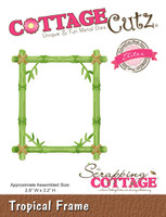 CottageCutz Elites Die -  Tropical Frame