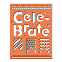 Spellbinders Celebra'tions Dies - Cele - Brate Plate