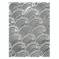 "Spellbinders 3D Embossing Folder 4.25""X5.5"" -  Splish Splash"