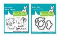 Lawn Fawn Stamps & Dies Bundle - Make Lemonade