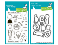 Lawn Fawn Stamps & Dies Bundle - Here's The Scoop