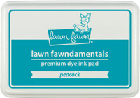 Lawn Fawn Ink Pad - Peacock