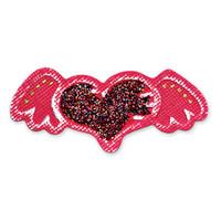 Sizzix Embosslits Die - Heart w/Wings by me & my BIG ideas