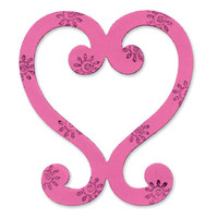 Sizzix Bigz Die - Heart, Decorative by Emily Humble