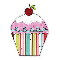 Sizzix Sizzlits Die Set 3PK - Cupcake Set by Dena Designs