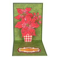 Stampendous Cling Stamps and Dies Bundle - Create A Poinsettia Bundle