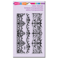 Stampendous - Clear Stamp Elegant Borders