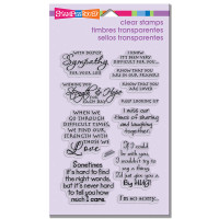 Stampendous - Clear Stamp Sincere Sentiments