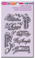 Stampendous - Clear Stamp Spanish Greetings