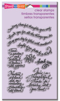 Stampendous - Clear Stamp Thoughtful Wishes