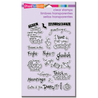 Stampendous - Clear Stamp Tricky Words