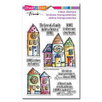 Stampendous - Clear Stamp Family Home