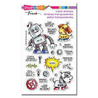 Stampendous - Clear Stamp Screwloose N Sparky