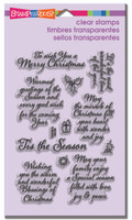 Stampendous - Clear Stamp Tis The Season