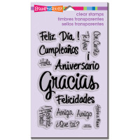 Stampendous - Clear Stamp Spanish Messages