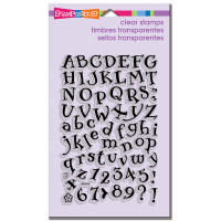 Stampendous - Clear Stamp Storybook Alphabet