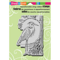 Stampendous - Cling Stamp Heron