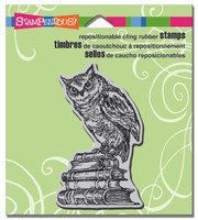 Stampendous - Cling Stamp Literary Owl