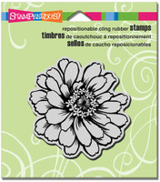 Stampendous - Cling Stamp Zinnia