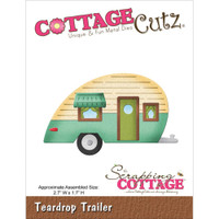 CottageCutz Die - Teardrop Trailer