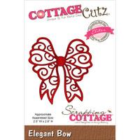 CottageCutz Die - Elegant Bow