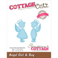 CottageCutz Die - Angel Girl & Boy