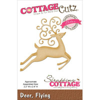 CottageCutz Elites Die - Flying Deer