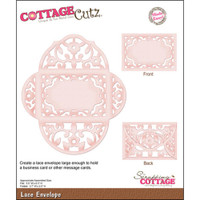 CottageCutz Die - Lace Envelope