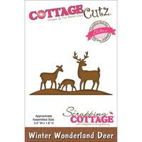 CottageCutz Elites Die - Winter Wonderland Deer