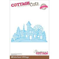 CottageCutz Elites Die - Winterland Village