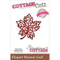 CottageCutz Elites Die - Elegant Harvest Leaf