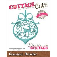 CottageCutz Elites Die - Reindeer Ornament