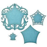 Spellbinders Nestabilities Decorative Elements Dies - Labels 48 Deco Element