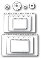 Memory Box Poppystamps Dies - Stitched Annaleigh Tag Decorations