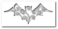 Memory Box Poppystamps Dies - Swirly Bat Cutout