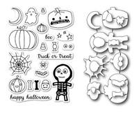 Memory Box Open Studio Stamps & Dies - Halloween Sideshow Die Set