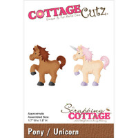 CottageCutz Die -  Pony/Unicorn