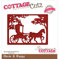 CottageCutz Elites Die -  Horse & Buggy