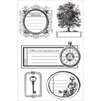 KaiserCraft Clear Stamps - Heirloom