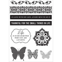KaiserCraft Clear Stamps - Be-You-Tiful