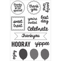 KaiserCraft Pop! Clear Stamps - Treats