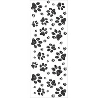 KaiserCraft Furry Friends Clear Stamps - Paw Prints